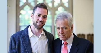 Matthew Trebek and his father, Alex Trebek