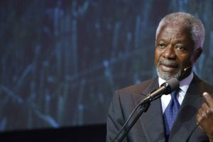 Kofi Annan leaves legacy as champion for landscape restoration in Africa