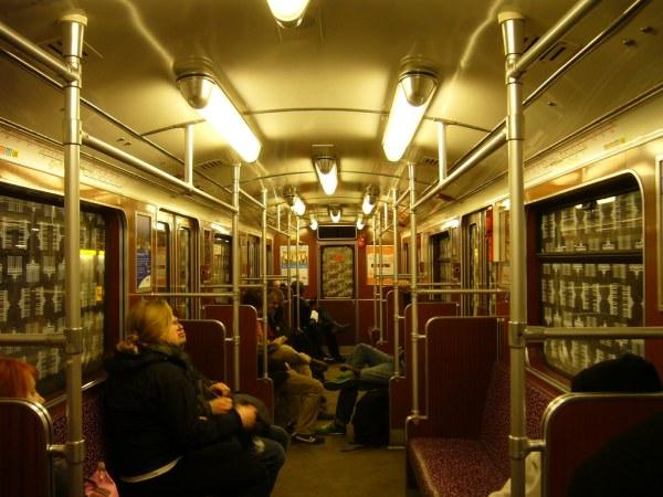 Berlin U-Bahn carriage