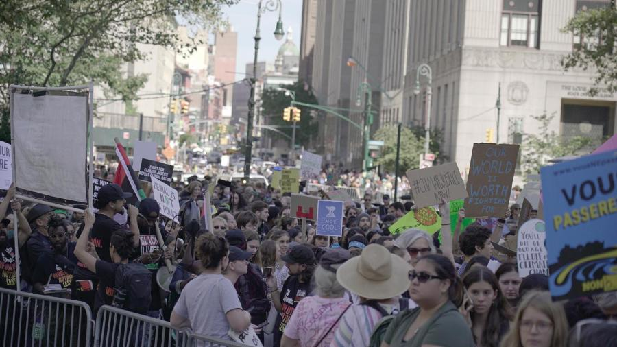 Climate Strike NYC