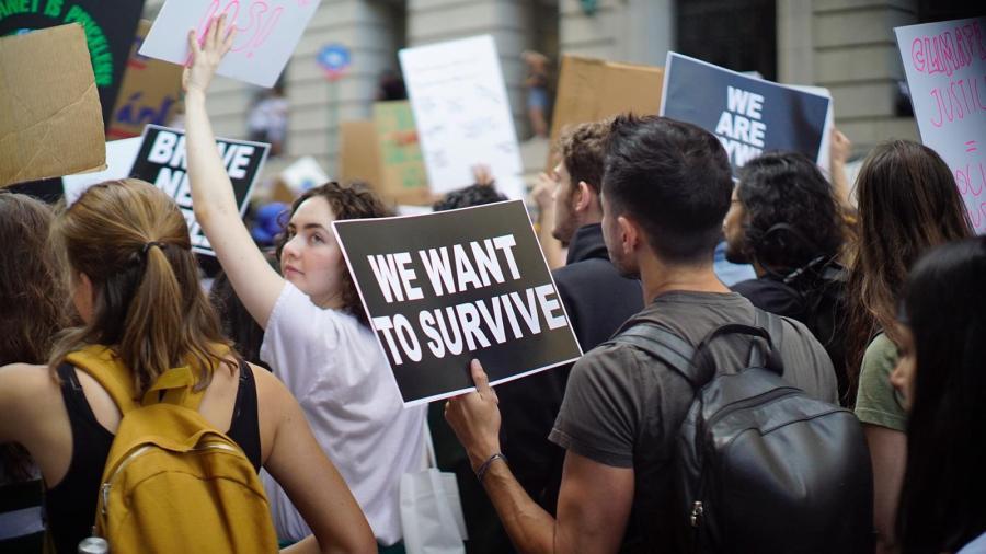 Climate Strike NYC