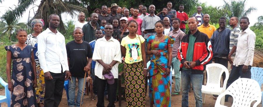 The community of Litoy in Democratic Republic of the Congo. Ahtziri Gonzalez, CIFOR