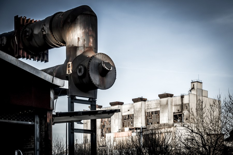 During the Industrial Revolution, Belval had some of the world's most modern steel-production infrastructure. Tobias Mandt, Flickr