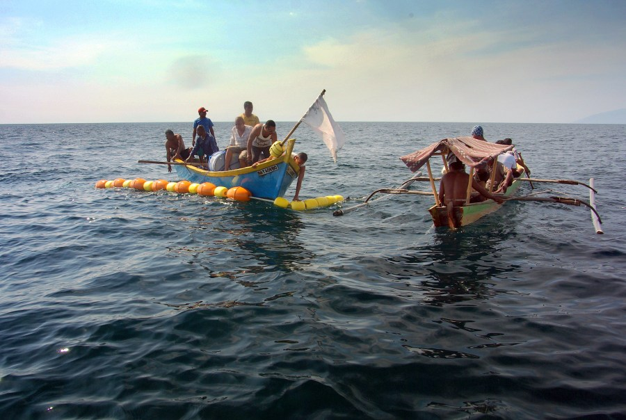 Local fishers in East Timor. David Mills, WorldFish