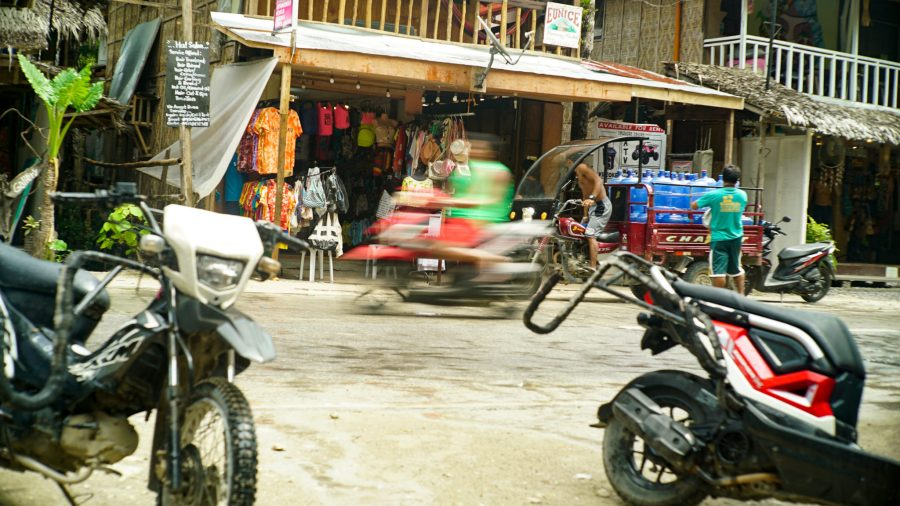 The streets of General Luna, the main town in Siargao. Justin K. Davey