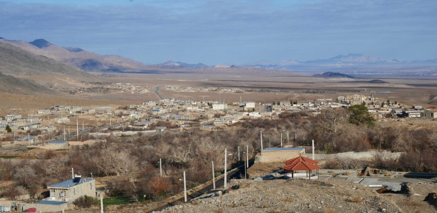 A village in Yazd Province, Iran. David Groenfeldt