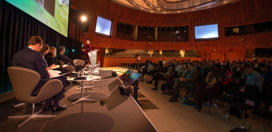 The fourth iteration of the Global Landscapes Forum's finance-focused symposium was held in Luxembourg on 30 November 2019. Pilar Valbuena, GLF