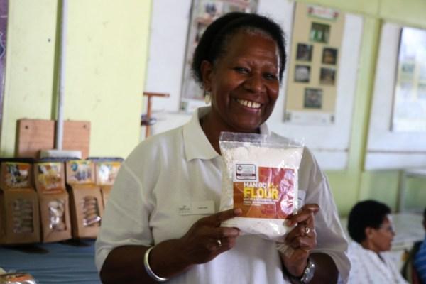 Vanuatuan entrepreneur Votausi McKenzie-Reur