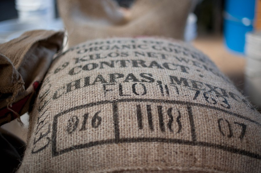 Coffee beans from Chiapas, one of Mexico's prized coffee-growing regions. Matthew Roth, Flickr