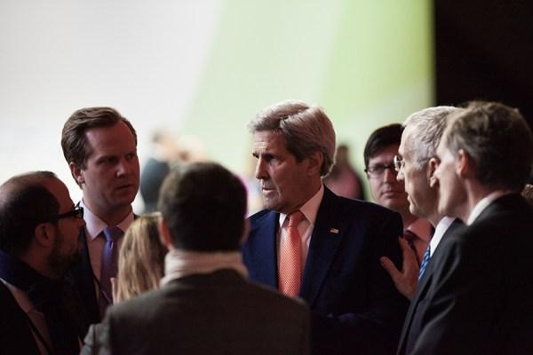 Former Secretary of State John Kerry now serves as President Biden's special presidential envoy on climate change. Iga Gozdowska, Flickr