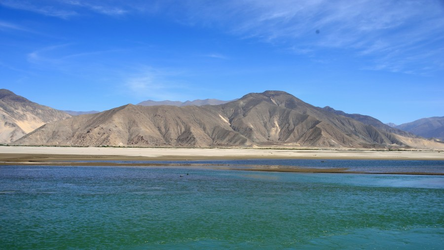 Tibet's Yarlung Tsangpo River, which is said to represent the body of the goddess Dorje Phagmo according to Tibetan culture. Henrik Berger Jørgensen, Flickr