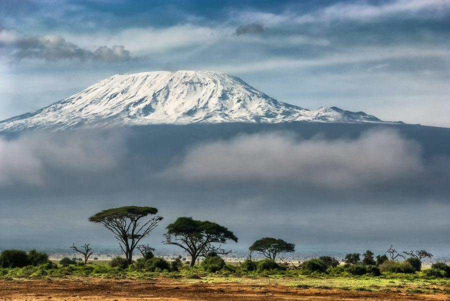 View of the slopes of Mount Kilimanjaro, where CBD head Elizabeth Maruma Mrema spent her youth. Sergey Pesterev, Unsplash
