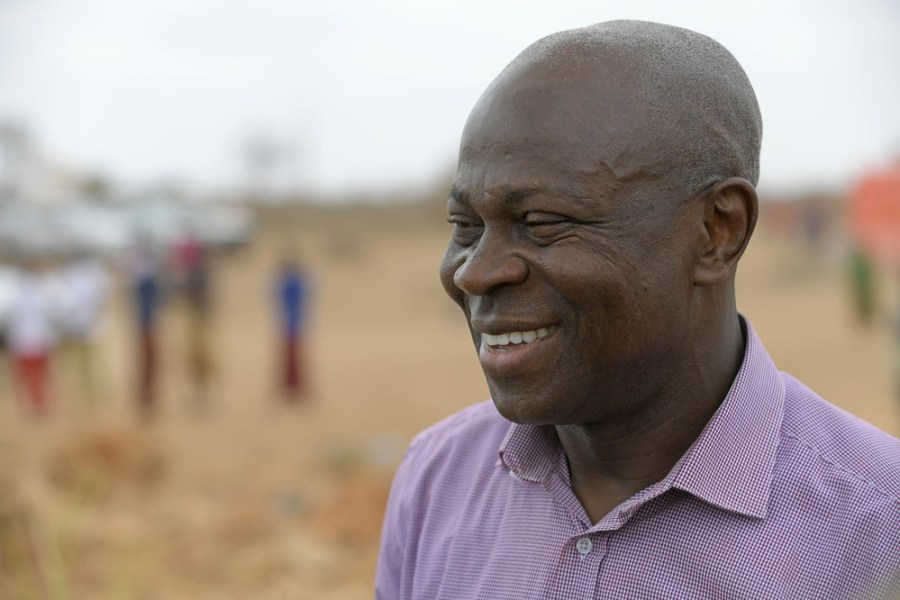 Gilbert F. Houngbo, president of the UN International Fund for Agricultural Development (IFAD).