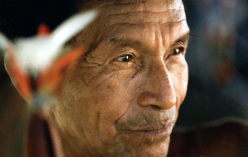 Un miembro de la etnia Tariana en la región Amazónica de Brasil. Julio Pantoja,World Bank