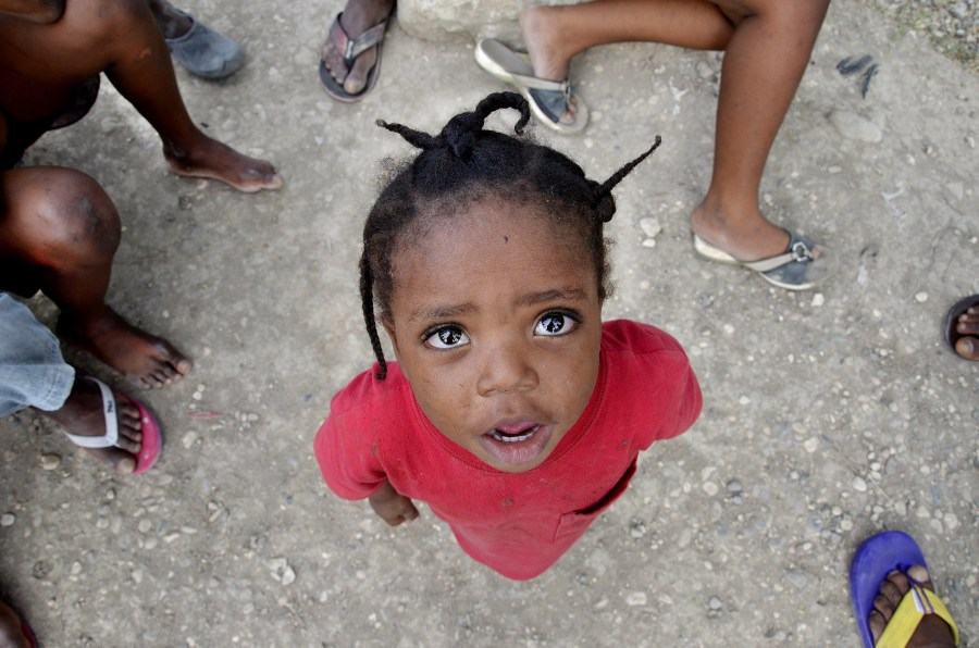The number of children under five with acute malnutrition in Haiti was expected to more than double this year – before the August earthquake. Vicente Raimundo,EU Civil Protection and Humanitarian Aid