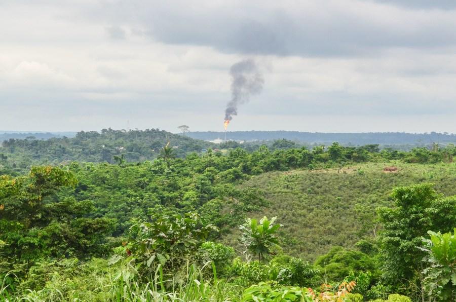 A gas flare near Pointe-Noire in the Republic of the Congo. jbdodane, Flickr