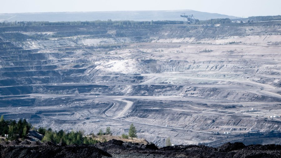 The coal mine and power station near Bełchatów, Poland. Roman Ranniew, Flickr