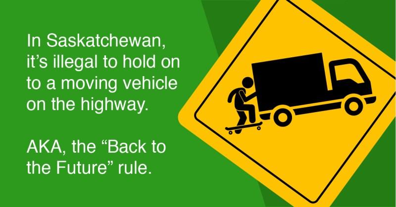 Canada's weirdest driving laws
