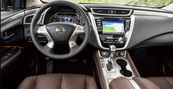 2018 Nissan Murano interior review