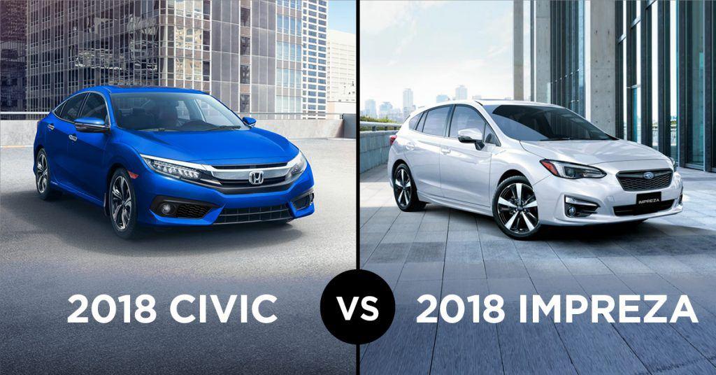 2018 honda civic or 2018 subaru impreza which is better? go auto 2006 Honda Civic DX