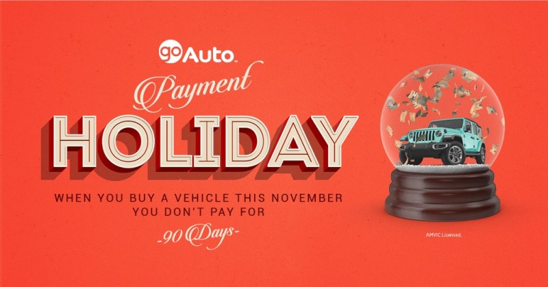 No Payments for 90 Days Go Auto