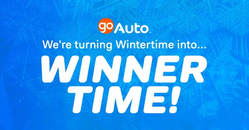 Go Auto's Winnertime Giveaway