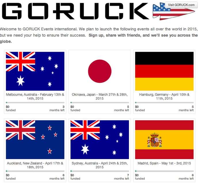 International.goruck.com