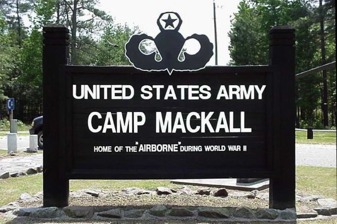 Camp_Mackall_Sign