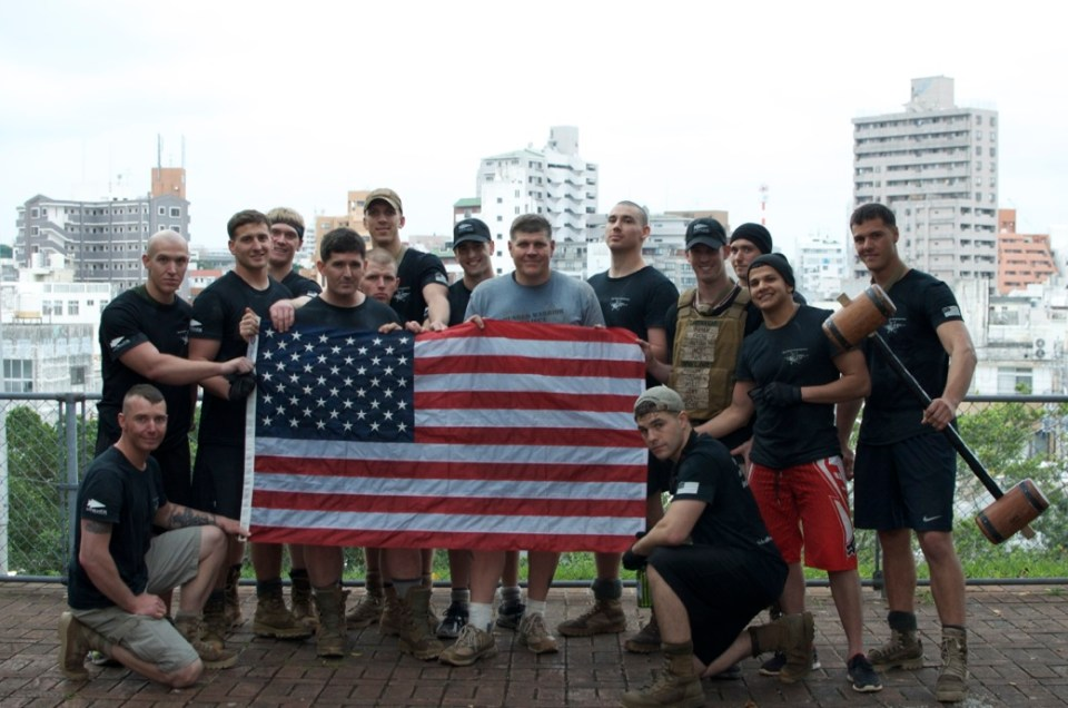GORUCK Challenge_USA Flag_Cadre Andy_Recon Marines_10