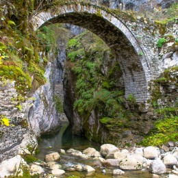 Vikos Gorge Old Stone Bridge
