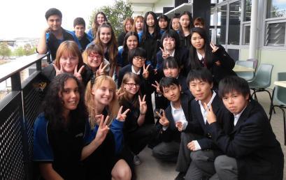 Annual Nara University High School (NUHS) Visit