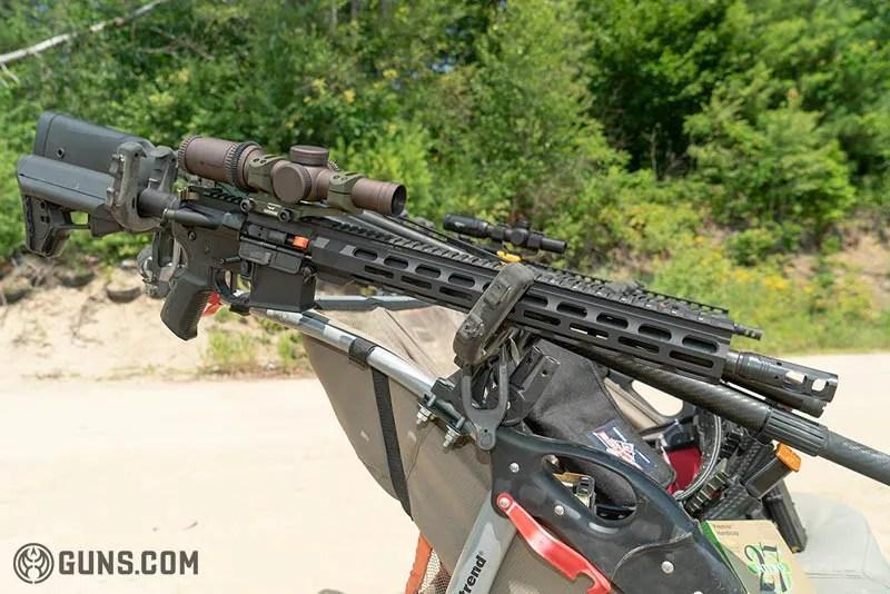 Guns at the ready.
