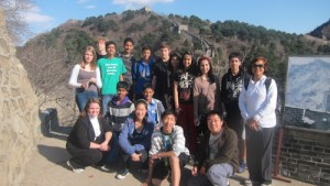 China Trip over Spring Break Invigorates and Bonds Grade 8 Travelers