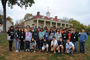 Grade 8 Students Take Historical Jaunt Through Nation's Capital on Class Trip