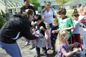 Alumni Easter Egg Hunt Delights Record Number of Children; New Union Site a Perfect Setting for Spring Fun