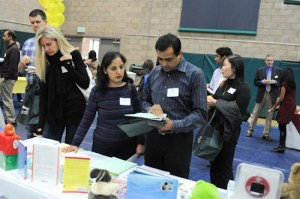 Harker's Newest Families Get Oriented at AnswerQuest