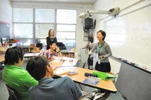 Exchange Teacher from Shanghai Sister School Observes and Teaches Classes at Harker