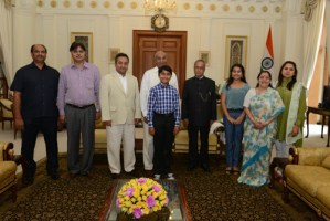 President of India Welcomes Harker Siblings into Home for Personal Visit