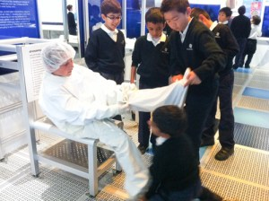 Visit to Intel a Hit with Tech Savvy Grade 5 Students