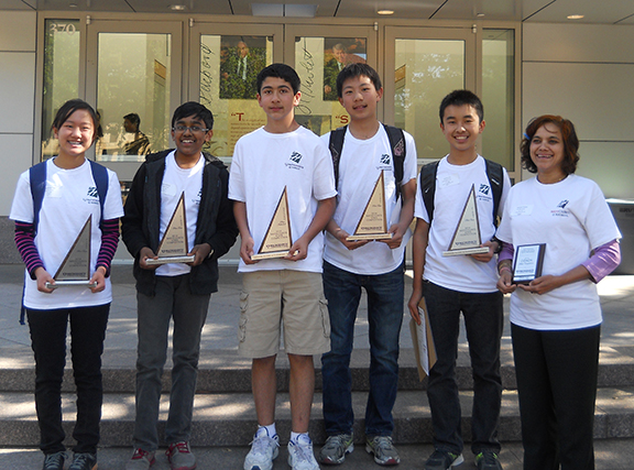 Middle School MathCounts Team Takes State Championship Will