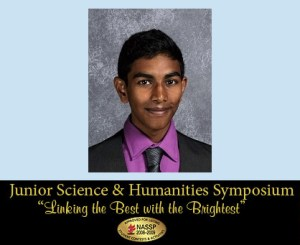 UPDATE! Junior Takes First Place in National Engineering Symposium, Chooses Internship at Stanford