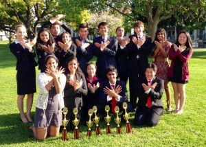 Five Harker Debaters Qualify for National Speech and Debate Tourney