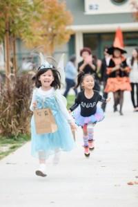 Preschoolers, Parents Enjoy Spooktacular Halloween Party