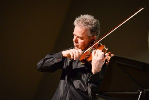 Frank Almond Wields the Lipinski Stradivarius to Dazzling Effect at Harker Concert Series