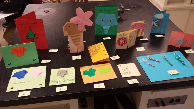 Middle School Club Sells Handmade Cards to Help Protect Wildlife in India