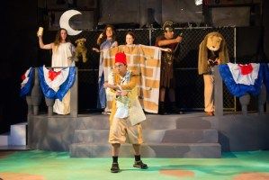 'A Midsummer Night's Dream' Becomes Urban Fantasy in Upper School Production