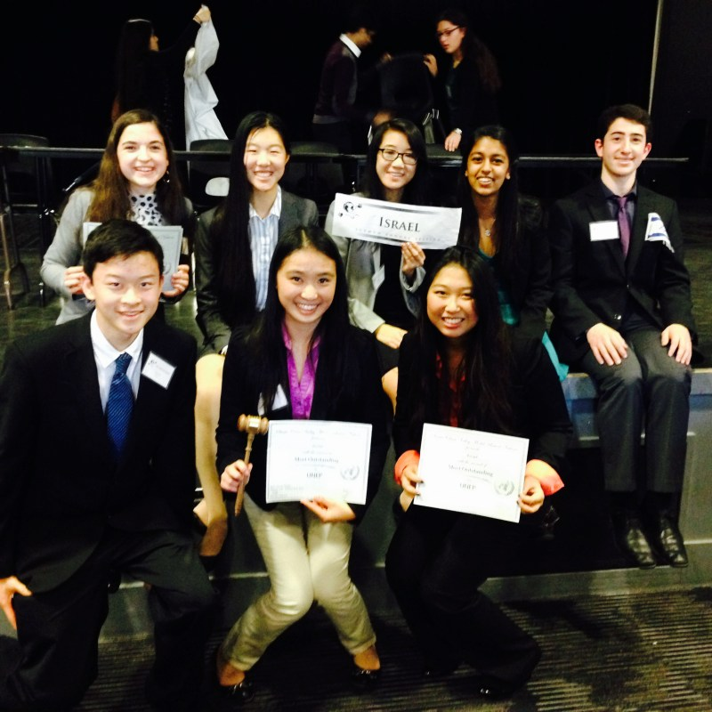 Model UN Team Takes Honors at Santa Clara Valley Conference