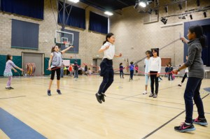Lower School's Annual Jump Rope for Heart Raises Money for American Heart Association