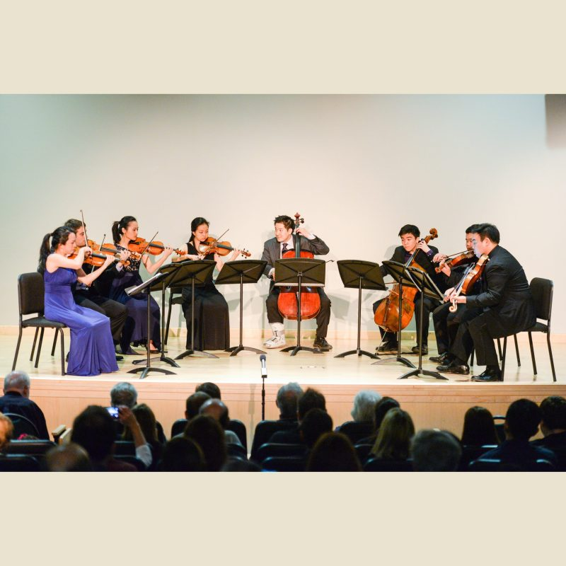 Afiara Quartet Brings Special Guests and Surprise to Harker Concert Series Season Closer