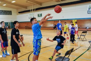 Summer Basketball Camp Offers Instruction in Constructive and Fun Environment